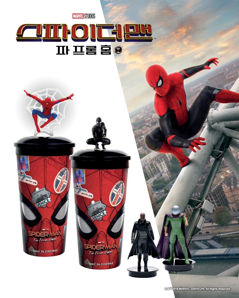 'Spider-Man: Far From Home, 2019' - TOPPER CUP - CGV