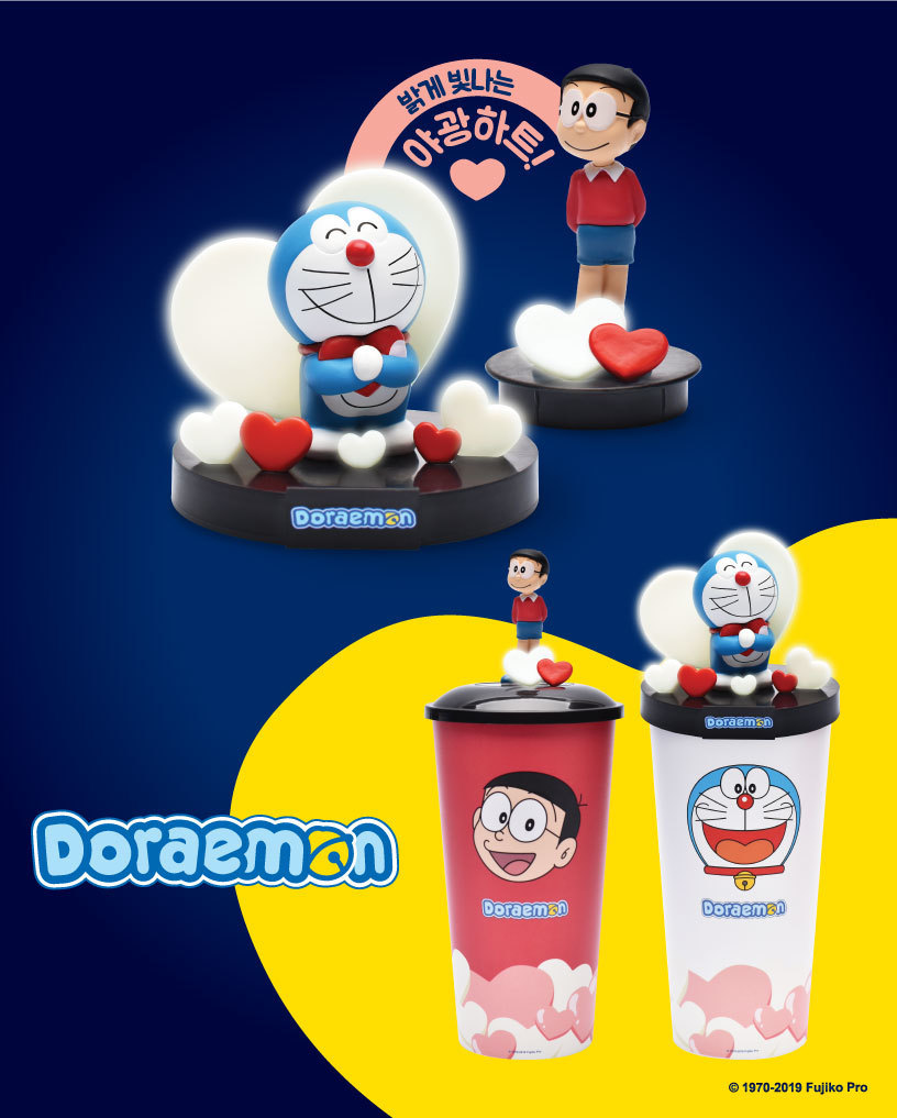 'Doraemon, 2019' - DIORAMA TOPPER CUP & SINGLE TOPPER CUP - CGV