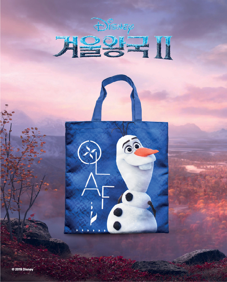 'Frozen 2, 2019' - ECO BAG  - MEGABOX
