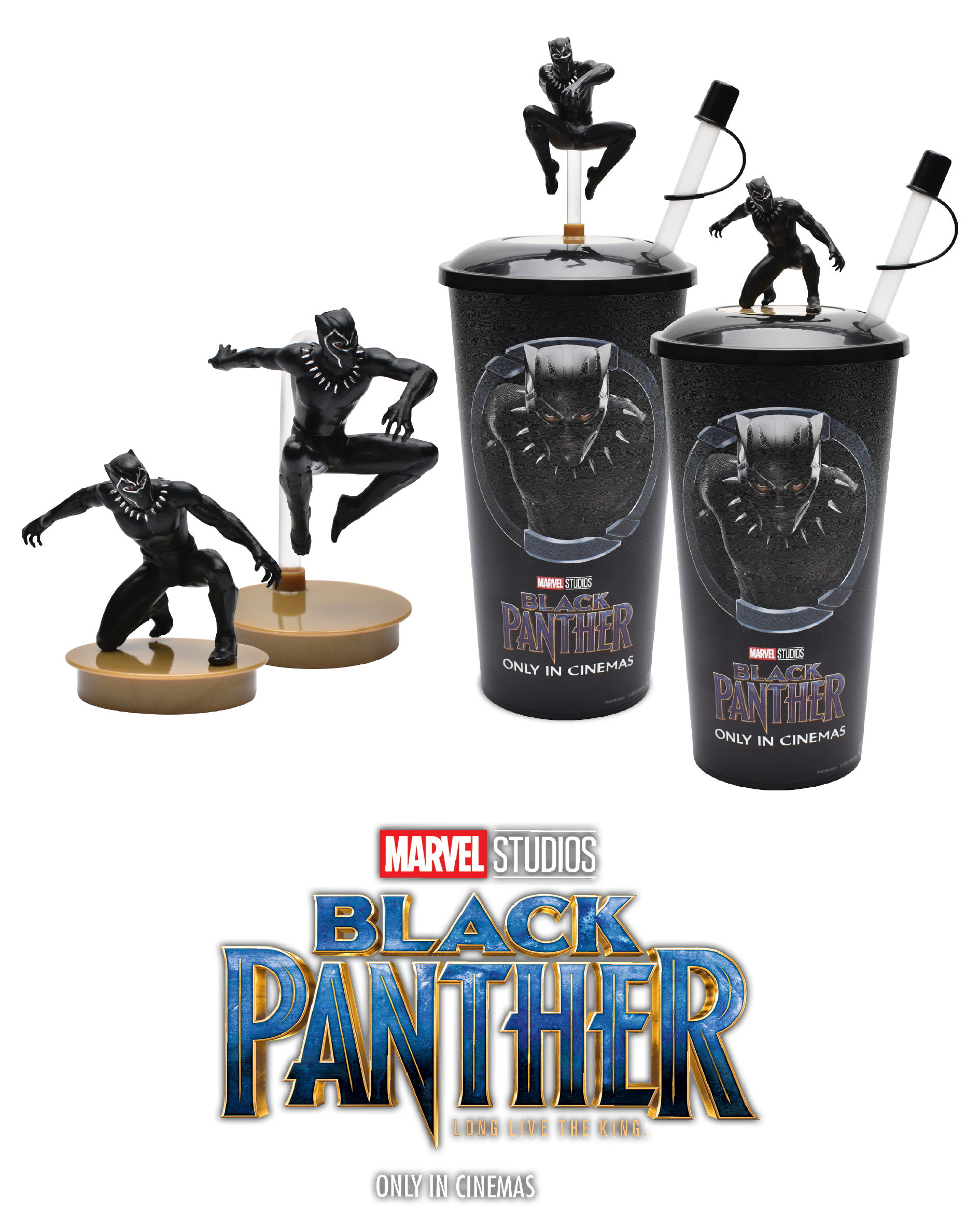 'Black Panther , 2018' - TOPPER CUP - CGV